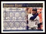1998 Topps #153  Bernard Gilkey  Back Thumbnail