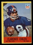 1967 Philadelphia #111  Clarence Childs  Front Thumbnail