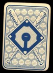 1968 Topps Game Inserts #26   Rick Monday   Back Thumbnail