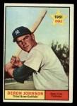 1961 Topps #68  Deron Johnson  Front Thumbnail
