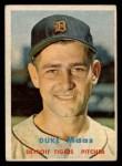1957 Topps #405  Duke Maas  Front Thumbnail