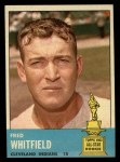 1963 Topps #211  Fred Whitfield  Front Thumbnail