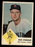 1963 Fleer #30  Dave Stenhouse  Front Thumbnail