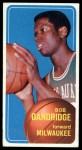 1970 Topps #63  Bob Dandridge  Front Thumbnail