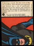 1966 Topps Batman Red Bat #7 RED  The Batline Life-line Back Thumbnail