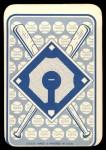 1968 Topps Game #12   Claude Osteen   Back Thumbnail