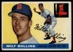 1955 Topps #91  Milt Bolling  Front Thumbnail