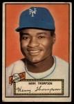 1952 Topps #3  Hank Thompson  Front Thumbnail