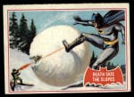 1966 Topps Batman Red Bat #22 RED  Death Skis the Slopes Front Thumbnail