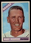1966 Topps #49  Woody Woodward  Front Thumbnail