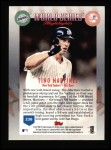1999 Topps #236   -  Tino Martinez World Series Back Thumbnail