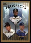1999 Topps #425  Carlos Lee / Mike Lowell  Front Thumbnail