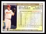 1999 Topps #385  Curt Schilling  Back Thumbnail