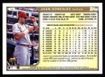 1999 Topps #50  Juan Gonzalez  Back Thumbnail