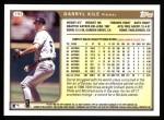 1999 Topps #192  Darryl Kile  Back Thumbnail