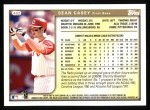 1999 Topps #402  Sean Casey  Back Thumbnail