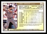 1999 Topps #197  Jamey Wright  Back Thumbnail