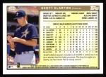 1999 Topps #299  Scott Elarton  Back Thumbnail