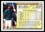 1999 Topps #119  Jason McDonald  Back Thumbnail