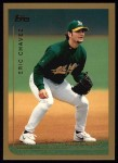 1999 Topps #250  Eric Chavez  Front Thumbnail