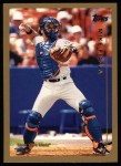 1999 Topps #340  Mike Piazza  Front Thumbnail