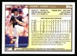 1999 Topps #176  Bobby Jones  Back Thumbnail