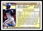 1999 Topps #133  Shannon Stewart  Back Thumbnail