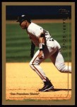 1999 Topps #395  Barry Bonds  Front Thumbnail