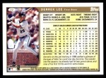 1999 Topps #22  Derrek Lee  Back Thumbnail