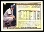 1999 Topps #165  David Dellucci  Back Thumbnail