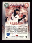 1999 Topps #240   -  Mariano Rivera World Series Back Thumbnail