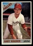 1966 Topps #151  Gary Wagner  Front Thumbnail