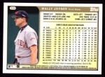 1999 Topps #295  Wally Joyner  Back Thumbnail
