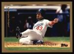 1999 Topps #365  Raul Mondesi  Front Thumbnail
