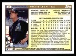 1999 Topps #25  Travis Lee  Back Thumbnail
