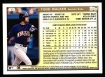 1999 Topps #30  Todd Walker  Back Thumbnail