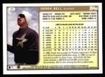 1999 Topps #99  Derek Bell  Back Thumbnail