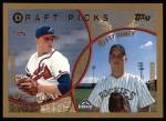 1999 Topps #438  Matt Belisle / Matt Roney  Front Thumbnail