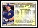 1999 Topps #307  John Jaha  Back Thumbnail