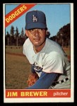1966 Topps #158  Jim Brewer  Front Thumbnail
