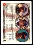 1999 Topps #456  Frank Thomas / Tim Salmon / David Justice  Back Thumbnail