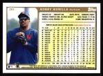 1999 Topps #282  Bobby Bonilla  Back Thumbnail