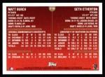 1999 Topps #216  Matt Burch / Seth Etherton  Back Thumbnail