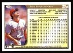 1999 Topps #286  Todd Zeile  Back Thumbnail