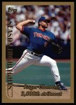 1999 Topps #203   -  Roger Clemens  Highlights Front Thumbnail