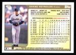 1999 Topps #260  Shane Reynolds  Back Thumbnail