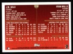1999 Topps #218  J.M.Gold / Ryan Mills  Back Thumbnail