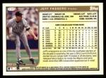 1999 Topps #117  Jeff Fassero  Back Thumbnail