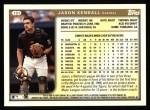 1999 Topps #191  Jason Kendall  Back Thumbnail