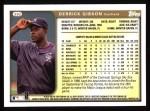 1999 Topps #392  Derrick Gibson  Back Thumbnail
